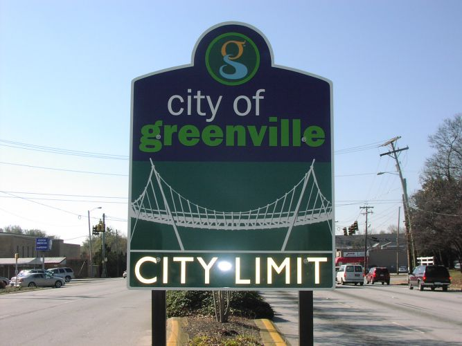 Greenville City Limit